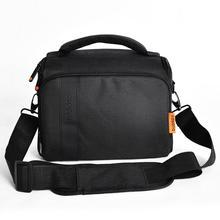 цена на fosoto DSLR Camera Bag Waterproof Fashion Shoulder Bag Video Camera case For Canon Nikon Sony Lens Pouch Photography Photo Bag