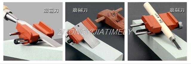 Affûteuse dangle fixe, outils ménagers de travail du bois, ciseau de meulage manuel