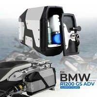 Big verkauf! Tool Box Für BMW r1250gs r1200gs lc & adv Abenteuer alle jahre 2012 für BMW r 1200 gs Linke Seite halterung Aluminium box