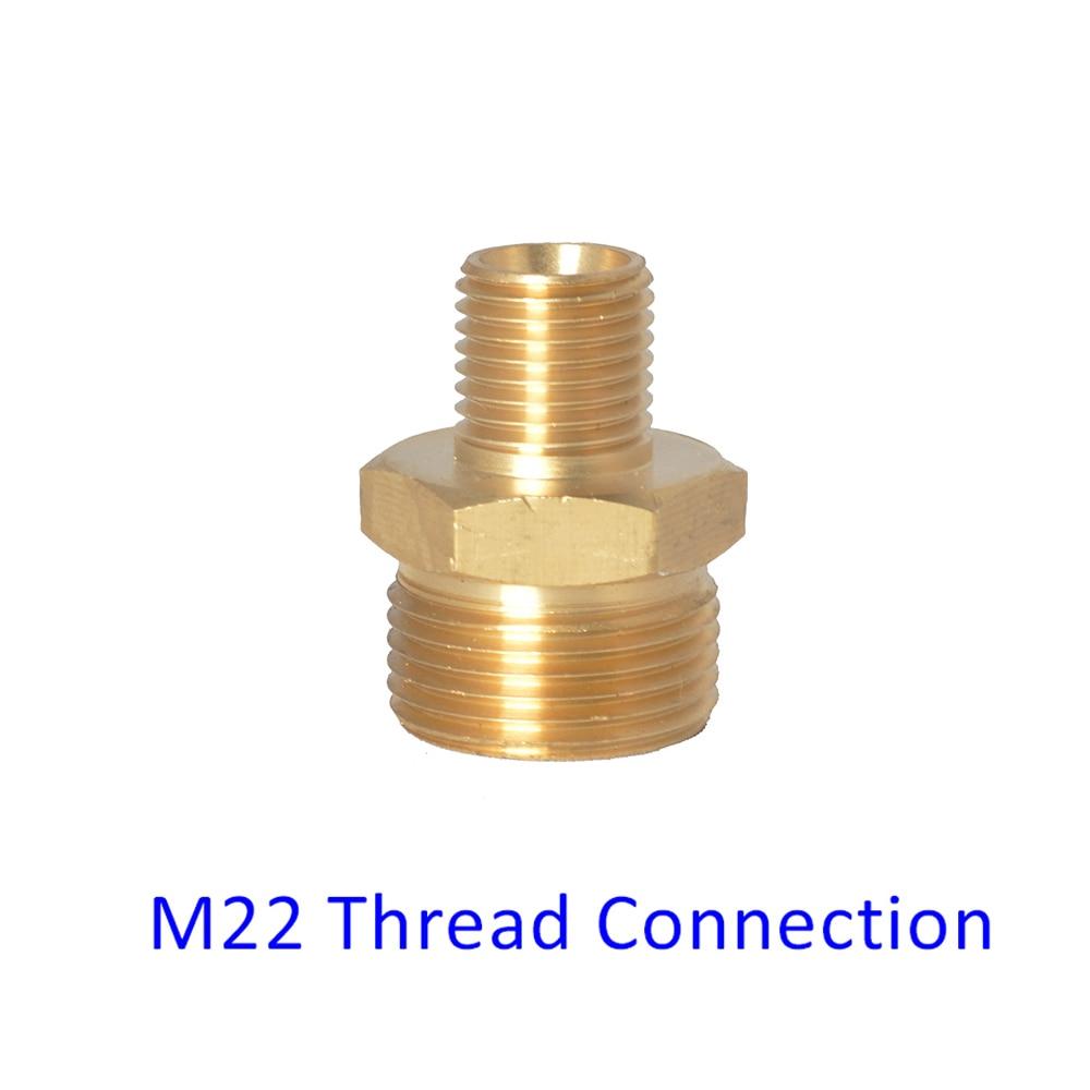 M22 Adapter Connector For Snow Foam Nozzle/ Foam Cannon/ Foam Generator/ High Pressure Soap Foamer For Kranzle Thread Connection