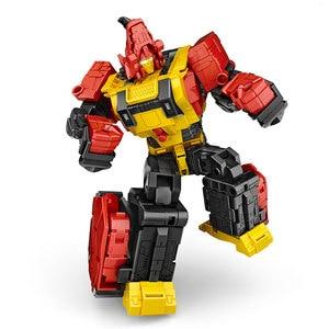 Image 4 - G1 transformação predaking divebomb rampage cabeça oversize guerra modo águia figura de ação robô brinquedos