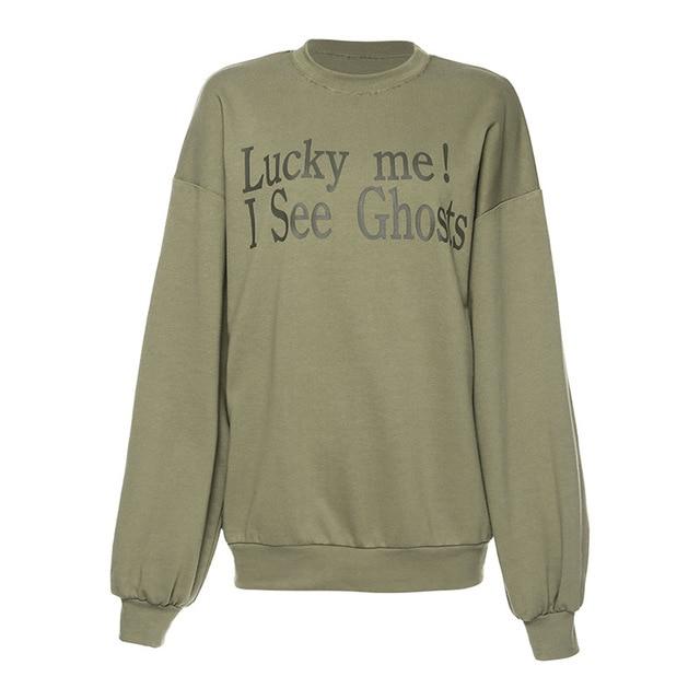 Women Streetwear Letter Hoodies Sweatshirts Kendall Jenner Same Hoodie Sweatshirt Loose Long Sleeve Hooded Tops Pullovers 4