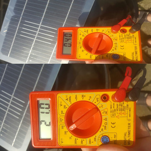 Image 5 - BOGUANG 18 فولت 10 واط مجموعة اللوحة الشمسية شفافة شبه مرنة خلية شمسية أحادية البلورية لتقوم بها بنفسك وحدة في الهواء الطلق موصل تيار مستمر 12 فولت شاحن
