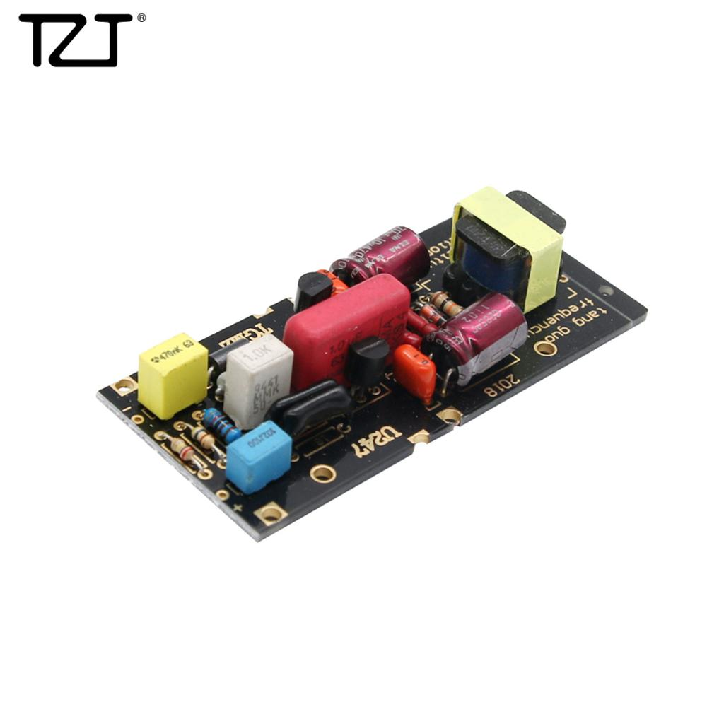 TZT DIY Circuit Board For Large Diaphragm Condenser Microphone DIY Powered By 48V Phantom Power