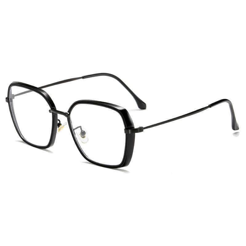 2019 fashion PC frame alloy anti blue light computer glasses men women coating film blocking ray from computer phone for gaming
