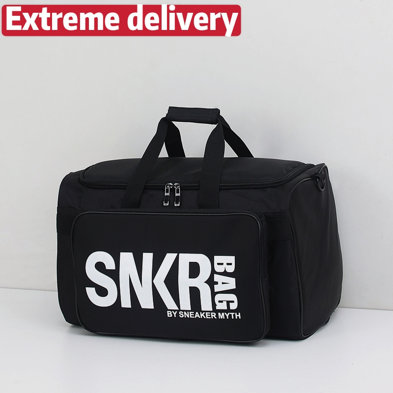 SNKB Multifunctional Shoe Storage Travel Bag Sports Fitness Bag Basketball Bag Large Capacity Luggage Bag