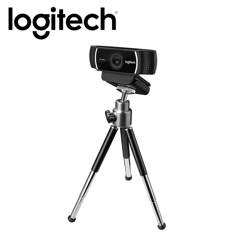 Logitech C922 Pro Autofocus Webcam 1080P 30FPS Full HD Anchor Camera With Tripod HD 720P (60FPS) Streaming Video Web Cam New