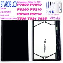 цена на For Samsung Galaxy Tab 3 10.1 P5200 P5210 P5100 P5110 P7500 P7510 T530 T531 T535 LCD Display Monitor Module Screen Panel Repair