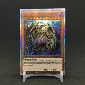 Yu Gi Oh DIY Ten Thousand Dragon English Japanese Toys Hobbies Hobby Collectibles Game Collection Anime Cards