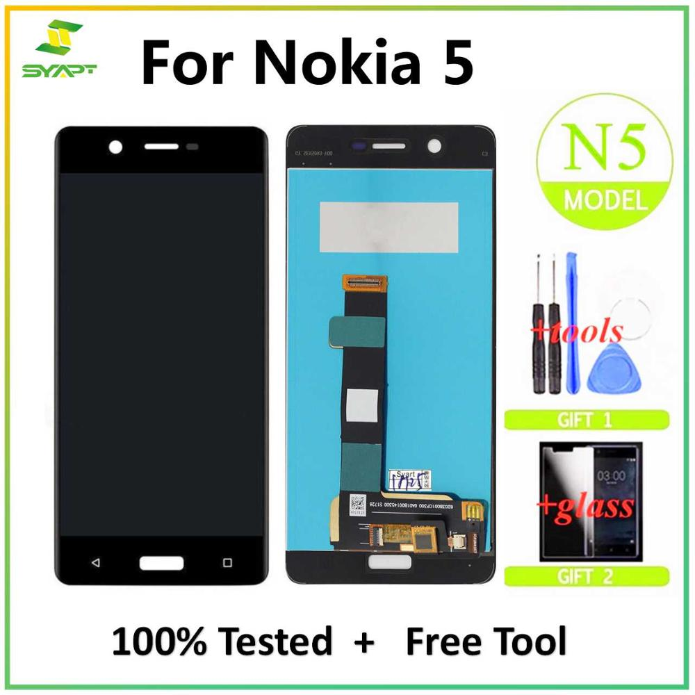 LCD Screen For <font><b>Nokia</b></font> <font><b>5</b></font> LCD Display Touch Screen Digitizer Assembly Replacement For Nokia5 N5 TA-1008 TA-1030 TA-<font><b>1053</b></font> LCD Screen image