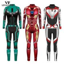VIP FASHION 2020 New Ainme 3D Cosplay Superhero Captain Iron Man Printed Party Costume Halloween Costumes For Women(China)