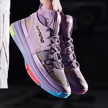 Li Ning 937 zapatos de baloncesto para hombre escala dragón transpirable absorción de choque Vintage zapatillas ABPP035 SAMJ19
