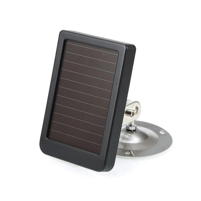 Outdoor Solar Panel Charger US/EU Plug 1500mah 9V Chargers For Suntek Hunting Trail Camera HC801 HC900 HC700 HC550 HC300 2
