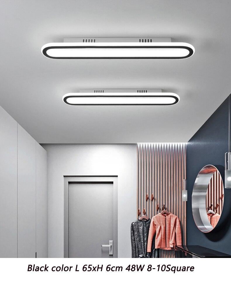 sala de estar quarto casa AC85-265V moderno led lustre luminárias