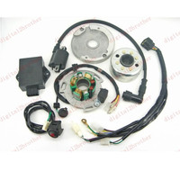 H2CNC Performance Racing Magneto Stator Rotor Kit Dirt Bike LIFAN 125cc 138cc 140cc 150cc Metal & Plastic Motorcycle Ignition