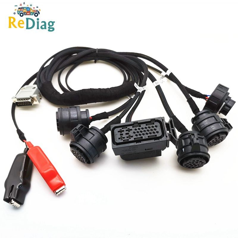 Newly For VAG Gearbox Adapters For DQ250 DQ200 VL381 VL300 DQ500 DL501 Gearbox Cables Read And Write Work With ECU Programmer