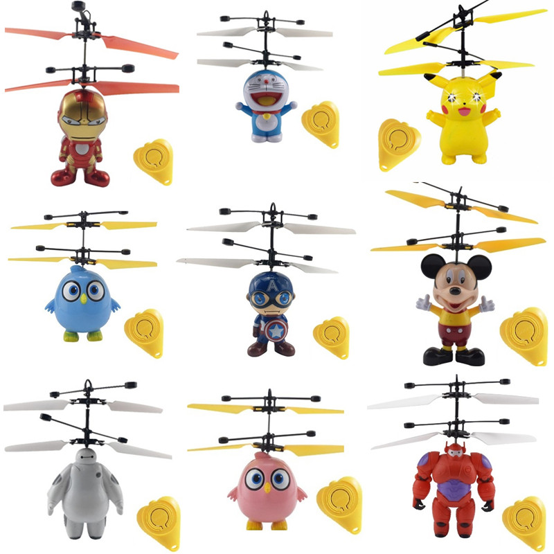 Mini Drone Flying Induction Quadcopter RC Drone Mini Infrared Sensor Helicopter Aircraft Remote Control Toy Drone Best Gift Toy