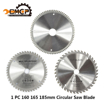 1pc Diameter 160 165 185mm TCT Circular Saw Blade For Wood Plastic Acrylic Woodworking Saw Blade 24T 48 60T 80T Cutting Disc