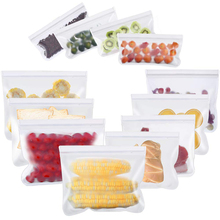 Food Storge Bags, Reusable Zero waste Airtight Seal Sandwich & Snacks Fruit Lunch Preservation Kitchen Tools
