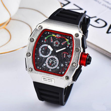 2019 Hot Brand Luxury siliconce dz Auto Date Week Display Luminous Diver Watches