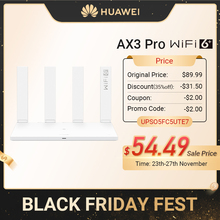 Router Easy-Set-Up Tap-To-Connect Revolution Wifi-Speed Quad-Core Mbps Huawei Ax3 Chinese-Version