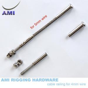 Image 5 - Swage stud ve diğer ürünler tel halat kaldırma kablo korkuluk