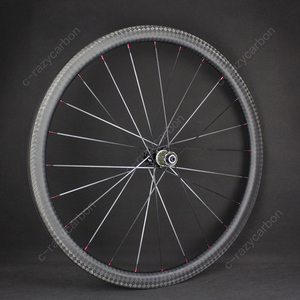Image 4 - Special Brake 12k Finish Climbing Front Rear Carbon Road Bicycle Wheels With Novatecs AS61cb/FS62cb Carbon Hubs Straight Pull