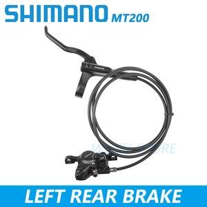 Image 4 - Shimano BR BL MT200 Bicycle Brake MTB Brake Hydraulic Disc Brake 800/900/1350/1450/1550mm Mountain Clamp Brakes upgraded MT315
