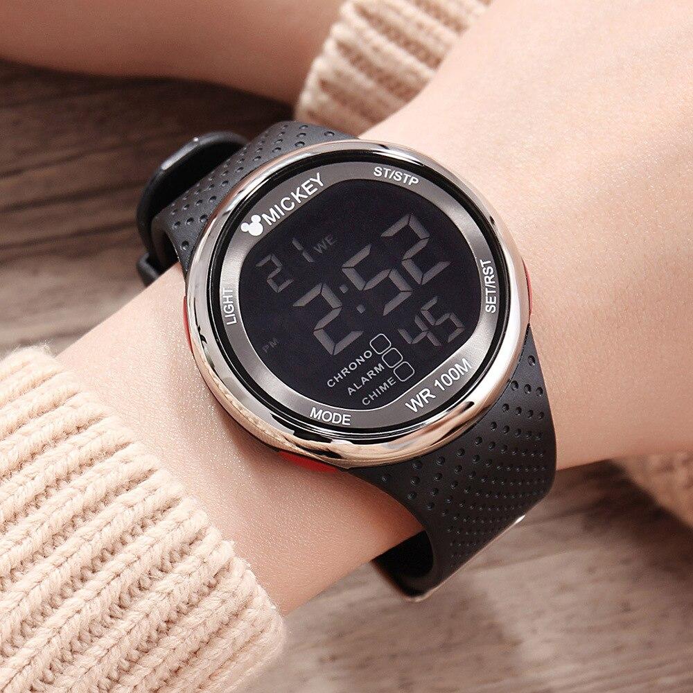 Disney Интернет время часы спорт электронные часы 100 метр водонепроницаемый плавание Chaoren