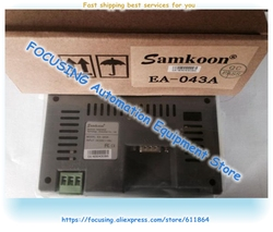 Samkoon HMI 4,3 дюймов EA-043A сенсорный экран 480*272 новинка в коробке Бесплатная доставка
