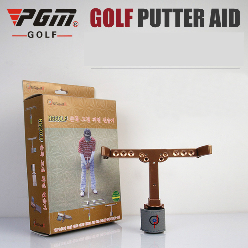 PGM Golf Putter Assistant Can Be Used Out Of Court With High Accuracy And Fixed Wrist Putter Exerciser Jzq008
