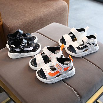 Fashion high quality fashion children sandals cool hot sales soft kids casual shoes Lovely cute baby girls boys sneakers