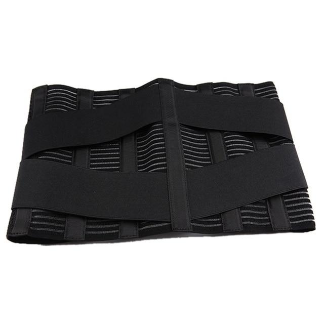 Orthopedic Posture Corrector Brace New Elastic Adjustable Lower Back Waist Trimmer Belt Lumbar Support Belt Corset Men Women 3
