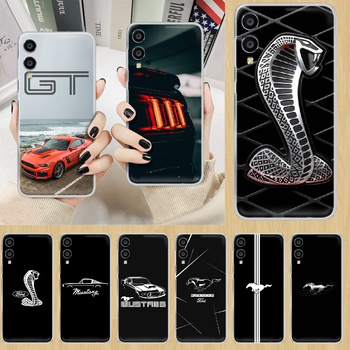 Car Logo Fords Mustang GT Phone Case hull For HUAWEI honor nova v 5 7 8 9 10 20 30 C A X Lite Pro transparent prime tpu cover image