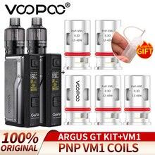 For Original VOOPOO Argus GT fit 160W + 5PCS PnP VM1Coils 0.3ohm RDL Mesh Coils Suit Pod Mod Electronic Cigarette combination