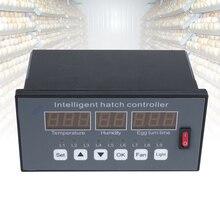 Светодиодный термостат, цифровой многофункциональный полностью автоматический инкубатор для яиц, точный регулятор температуры, инкубатор влажности