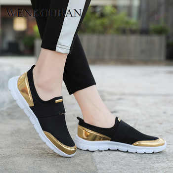 Fashion Sneakers Ladies Trainers Women Casual Shoes Slip on Loafers Basket Femme Vulcanized Shoes Tenis Feminino 2019 Plus Size - DISCOUNT ITEM  53% OFF All Category
