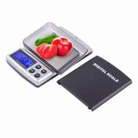 Lack+Silver Auto Power Off 300G/2000G Digital Pockets Scale Jewelry Weight Balance Scale Precision LCD With Optional Backlight