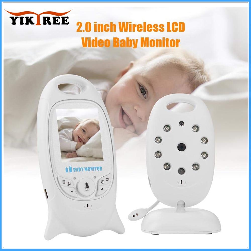 VB601 Wireless Video Baby Monitor Color Security Camera 2 Way Talk NightVision IR LED Temperature Monitoring
