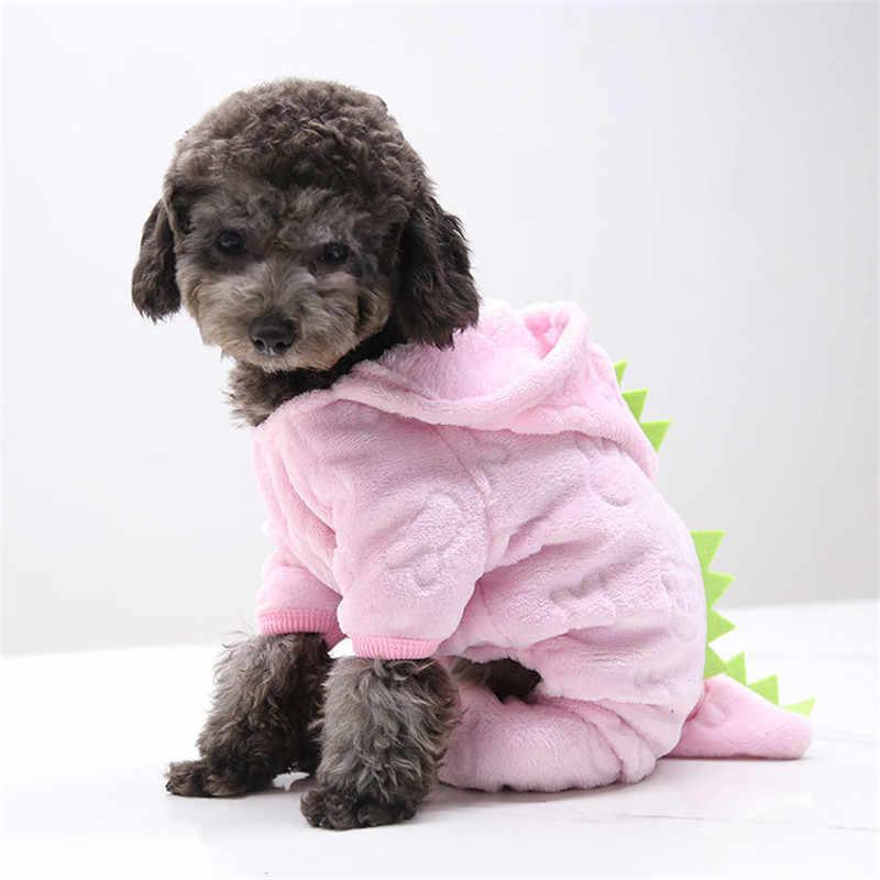 PUOUPUOU Addensare Divertente Cane di Animale Domestico Vestiti Caldi di Inverno Del Cane Pet Abbigliamento Felpe Felpa per le Piccole Medie Cani Cucciolo Carino XS-XXL