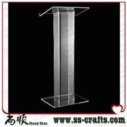 Gratis Verzending Uitstekende kwaliteit best verkopende goedkope knockdown acryl katheder plexiglas