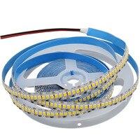 Taśma LED 12V 24V 2835 240 led/m 5m elastyczna taśma oświetleniowa Led oświetlenie Super Bright 1200LEDs wodoodporna ciepła/zimna/naturalna biel