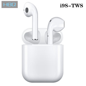 i9s Tws Headphone Wireless Bluetooth 5.0 Earphone Mini Earbuds With Mic Charging Box Sport Headset For Smart Phone(China)