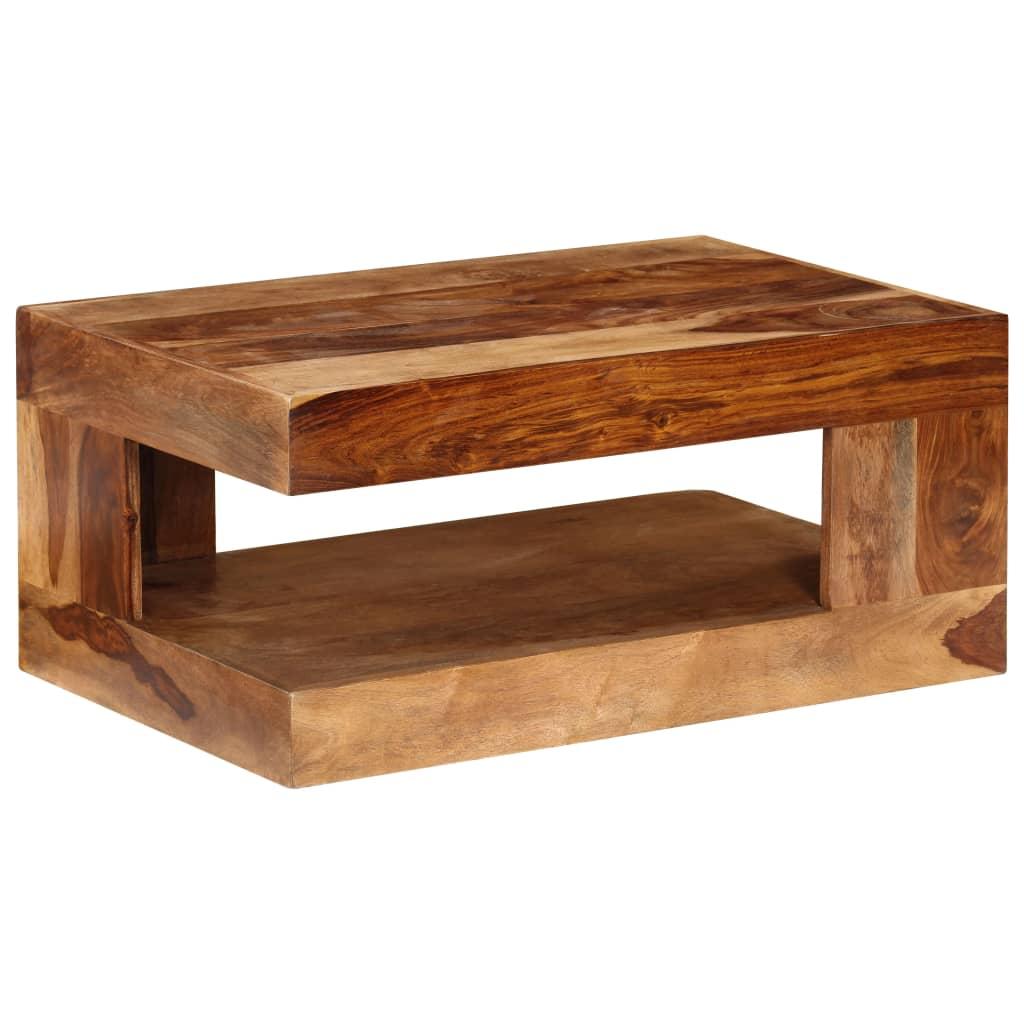 VidaXL Coffee Table Solid Sheesham Wood