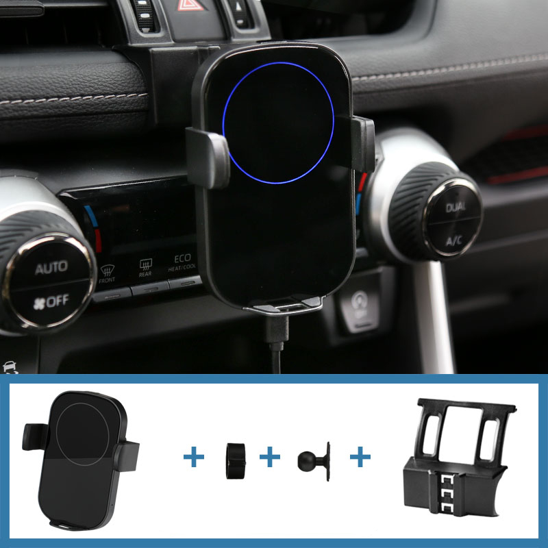 For Toyota RAV4 RAV 4 2020 Car Phone Holder Mount Gravity GPS Wireless Charging Stand Air Vent Mount Fit Smartphone 4 0 6 0inch