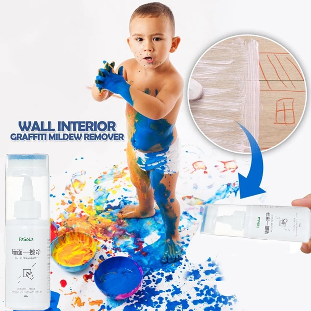 Wall Interior Graffiti Detergent Remover Effectively Remove Paint And Keep Clean Household Cleaning Tools Anti rust Lubricant|All-Purpose Cleaner| |  - title=