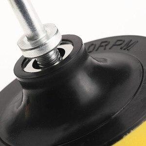 Image 5 - 8 pçs/set 3 polegada polidor de polimento almofada esponja kit carro com rosca m10 adaptador lavagem carro detalhamento limpeza do carro estilo