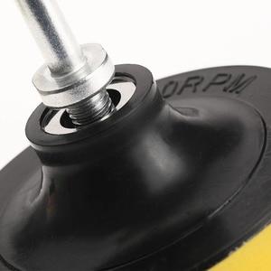 Image 5 - 8Pcs/Set 3inch Polishing Buffing Pad Sponge Kit Car Polisher W/ M10 Thread Adapter Car Wash Auto Detailing Cleaning Car Styling