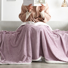 custom diy print warm christmas blankets 150x200cm merry christmas blanket flannel fabric sofa bed blanket home decor blanket Thickened Double Sided Home Office Blanket Flannel Cashmere Warm Throw Blanket for Sofa Bed Travel Portable Cold-proof Blanket