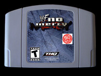 64-битная игра ** WWF No Mercy (Версия США!)
